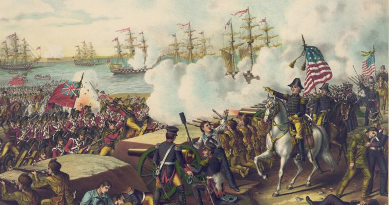 Painting of the War of 1812.
